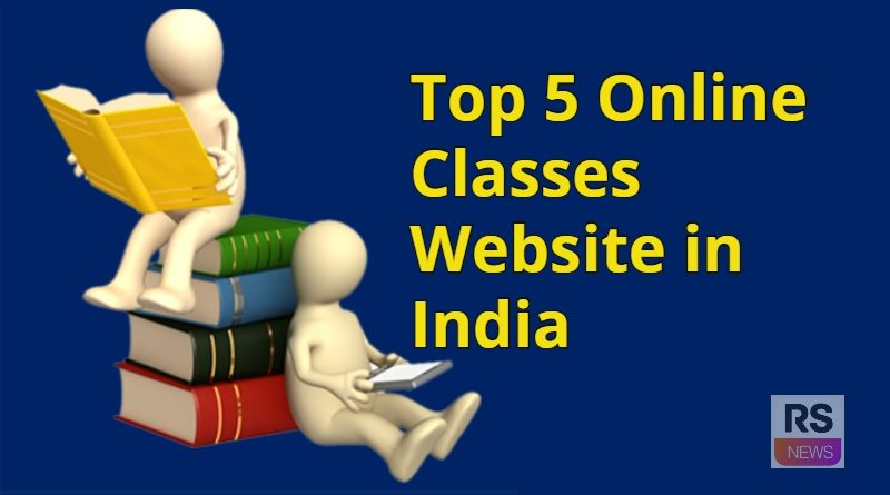 5 Online Classes Website