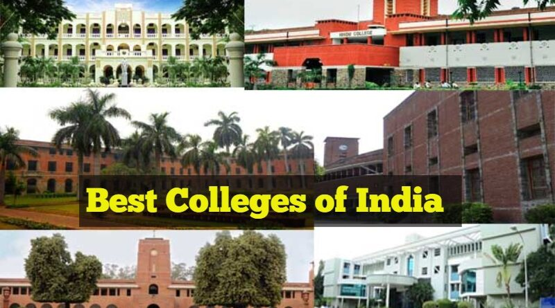 List of top-7 Colleges of India